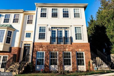 Derwood Townhouse For Sale: 17720 Phelps Hill Lane