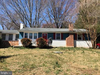 North Potomac Single Family Home For Sale: 14200 Dufief Mill