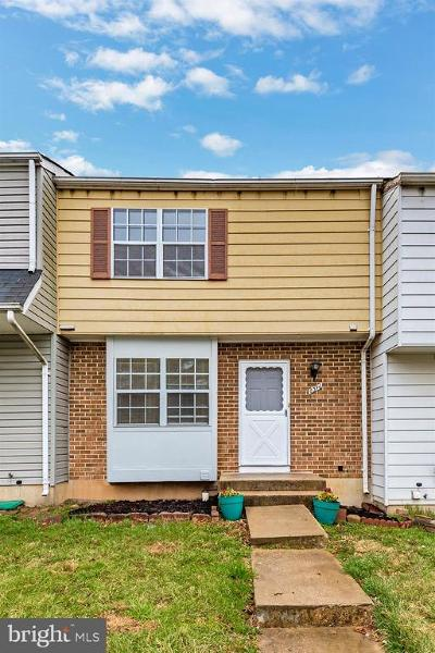 Gaithersburg Townhouse For Sale: 8346 Mountain Ash Way