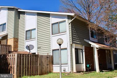 Germantown Townhouse For Sale: 12711 Pumpkin Seed Court
