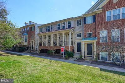 Derwood Townhouse For Sale: 7209 Phelps Hill Court