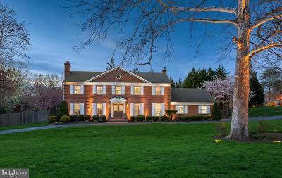 North Bethesda Single Family Home For Sale: 11100 Huntover Drive