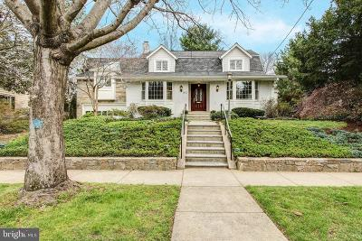 Chevy Chase Single Family Home For Sale: 3907 Aspen Street