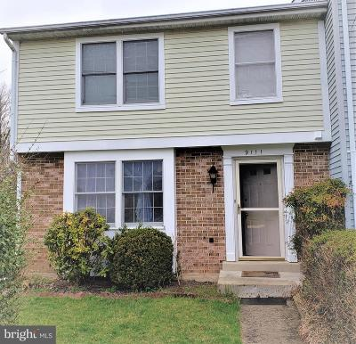Montgomery County Townhouse Active Under Contract: 9111 Turtle Dove Lane