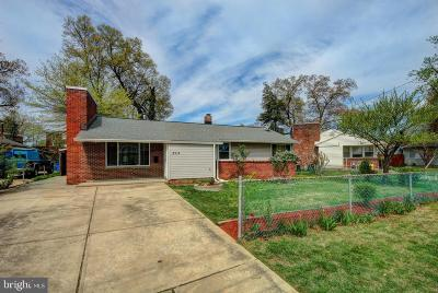 Silver Spring, Wheaton Single Family Home For Sale: 8314 Tahona Drive