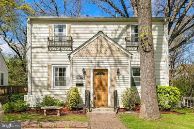 Silver Spring Single Family Home For Sale: 9710 Sutherland Road