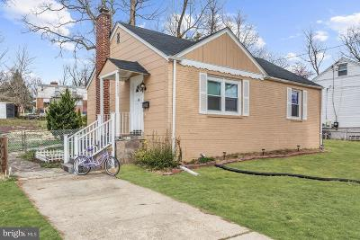 Silver Spring Single Family Home For Sale: 2803 Parker Avenue
