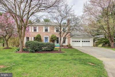 North Potomac Single Family Home Active Under Contract: 10921 Citreon Court