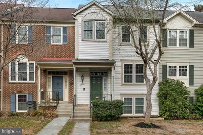 Montgomery Village Townhouse For Sale: 8740 Delcris Drive