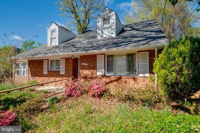 Silver Spring Single Family Home For Sale: 8210 Tahona Drive