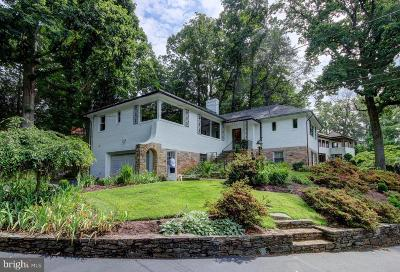Chevy Chase Single Family Home For Sale: 5415 Dorset Avenue