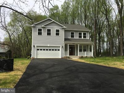 Poolesville Single Family Home For Sale: 18620 Jerusalem Church Road