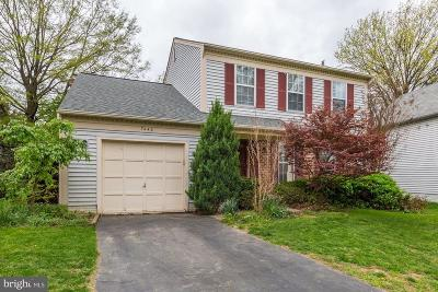 Gaithersburg Single Family Home For Sale: 7440 Cinnabar Terrace