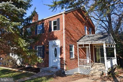 Silver Spring, Wheaton Single Family Home For Sale: 2603 Arvin Street