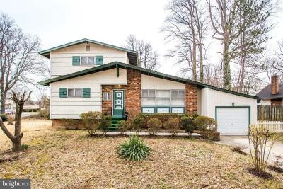 rockville Single Family Home For Sale: 703 Pumphrey Avenue
