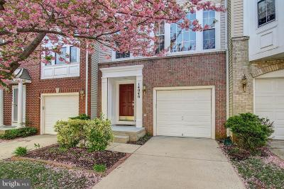 Germantown Townhouse For Sale: 14046 Rockingham Road