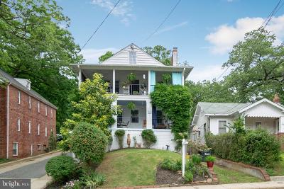 Takoma Park MD Single Family Home For Sale: $950,000