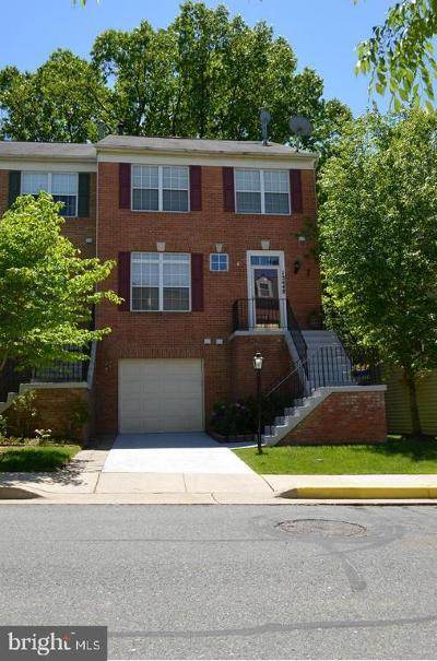 Germantown Townhouse For Sale: 13448 Ansel Terrace