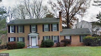 Rockville Single Family Home For Sale: 11901 Ambleside Drive