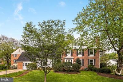 North Bethesda Single Family Home For Sale: 7111 Plantation Lane