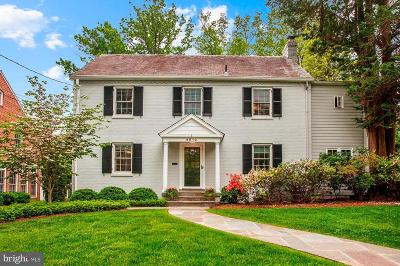 Chevy Chase Single Family Home Under Contract: 4810 Essex Avenue