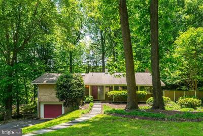 Bethesda Single Family Home For Sale: 7612 Hamilton Spring Road