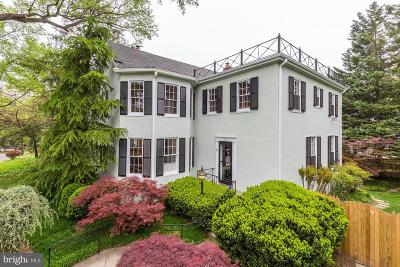 Chevy Chase Single Family Home For Sale: 5305 Saratoga Avenue