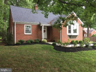 Olney Single Family Home For Sale: 2719 Olney Sandy Spring Road