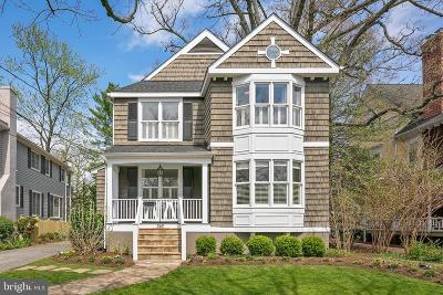 Chevy Chase Single Family Home For Sale: 3611 Thornapple Street