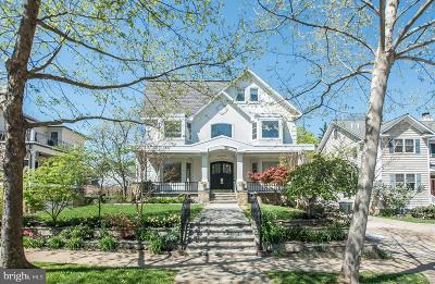 Chevy Chase Single Family Home For Sale: 4409 Walsh Street