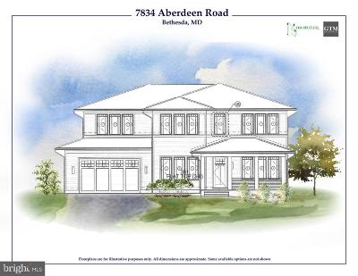 Bethesda Single Family Home For Sale: 7834 Aberdeen Road