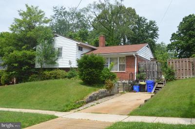 Silver Spring Single Family Home For Sale: 10204 Folk Street