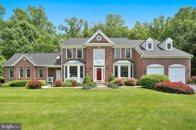 Rockville Single Family Home For Sale: 9601 Autumn Oaks Court