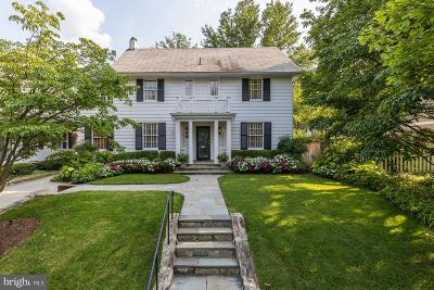 Chevy Chase Single Family Home For Sale: 14 Oxford Street