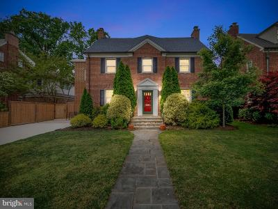 Chevy Chase Single Family Home For Sale: 3927 Oliver Street