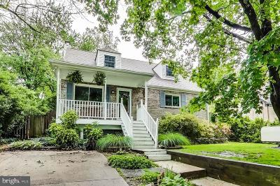 Silver Spring Single Family Home For Sale: 12413 Denley Road