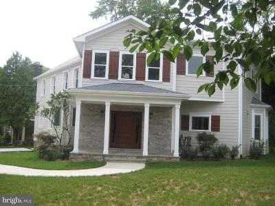 Chevy Chase Single Family Home For Sale: 5100 Fairfax Road