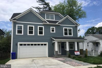 Bethesda Single Family Home For Sale: 9912 Montauk Avenue