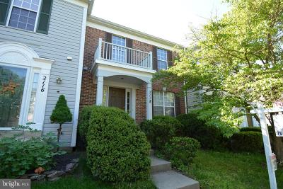 Silver Spring Townhouse For Sale: 2118 Blue Knob Terrace