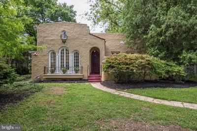 Chevy Chase Single Family Home For Sale: 3518 Raymond Street