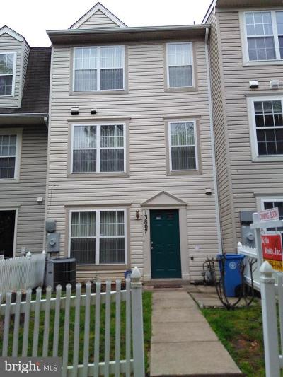 Montgomery County Townhouse For Sale: 13807 Crosstie Drive