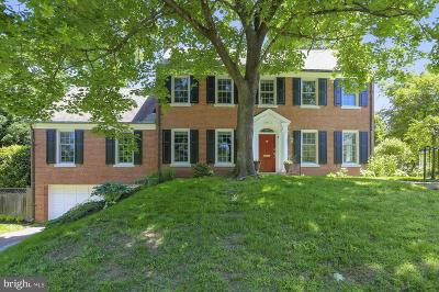 Bethesda Single Family Home For Sale: 4905 Scarsdale Road