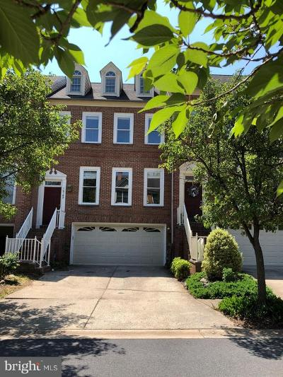 Rockville Townhouse For Sale: 10145 Sterling Terrace