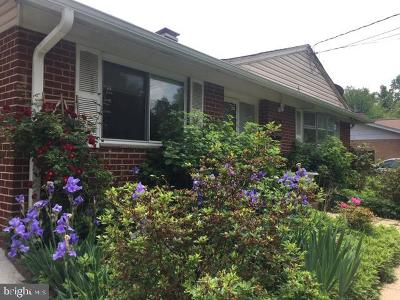 Silver Spring Single Family Home For Sale: 9505 Vance Place