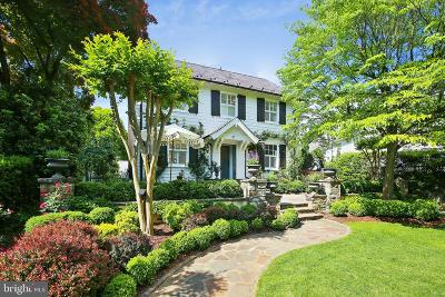Chevy Chase Single Family Home For Sale: 37 Oxford Street