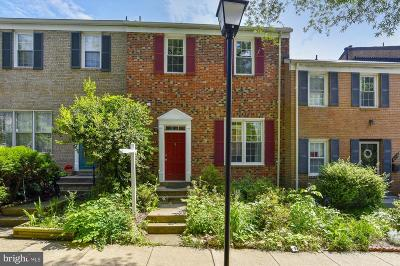 Rockville Townhouse For Sale: 624 Northcliffe Drive
