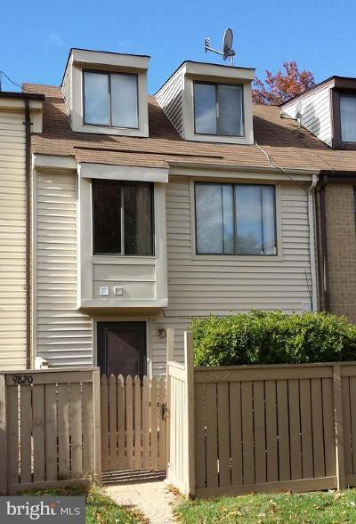Gaithersburg MD Townhouse For Sale: $220,000
