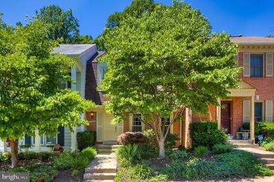 North Bethesda Townhouse For Sale: 12220 Tildenwood Drive