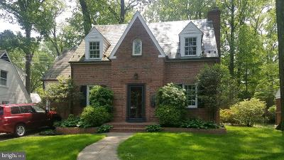 Silver Spring Single Family Home For Auction: 1310 Dale Drive
