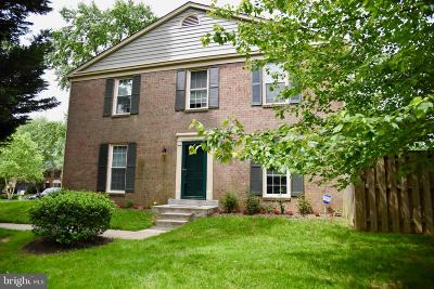 Montgomery Village Townhouse For Sale: 9221 Weathervane Place